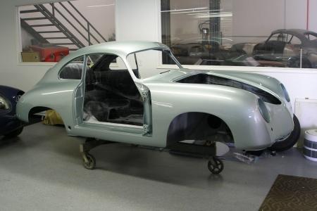 1954 Porsche 356 Coupe Restoration
