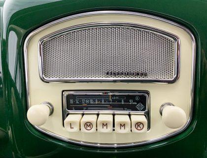 Radio Plate for Telefunken Radio